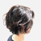 オーガニック艶カラー+美フォルムカット+頭皮マッサージプチスパ