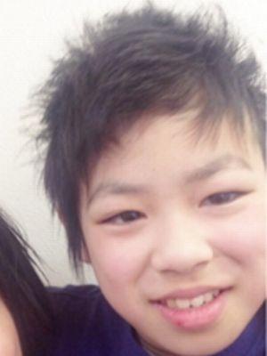 【硬髪メンズ】男子小学生・男子中学生!キツめのアシメ