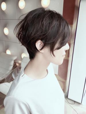 【WORKS】☆大人かわいい小顔マッシュショート☆