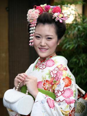 成人式ー舞子さん風-
