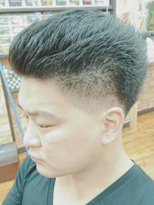 barber風メンズカット