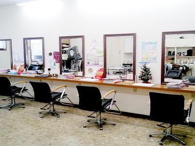 美容室ぶんぶん 荻川店1