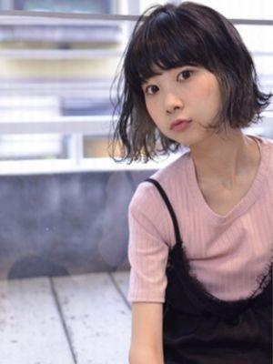 ☆ペールグレージュのインナーカラーボブ☆【coii】