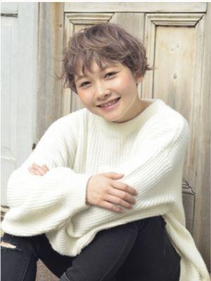 ☆ぷらちなラベンダーアッシュ・ショート☆【coii】