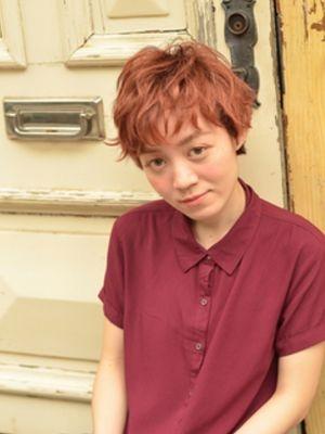 ☆外国の少年ちっくなレッドブラウンショート☆【coii】