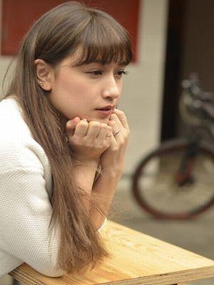 【coii】ハイ&ローライト★そのままで素敵なロングヘアー