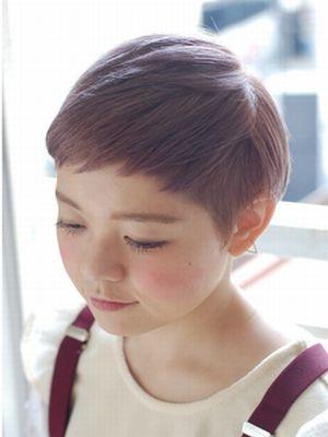 ☆シチサンベリーショートをくすみパープルで☆【coii】