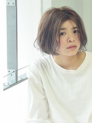 ☆シナモンベージュの洗いざらしボブ☆【coii】