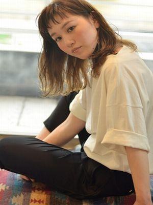 ☆媚びないシナモンベージュの透明感セミロング☆【coii】