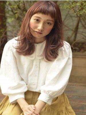 ☆温かみのあるチェリーピンクなセミロング☆【coii】
