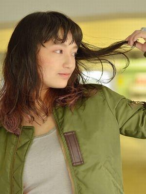 こなれ感★ラベンダーグレージュのインナーカラー【coii】