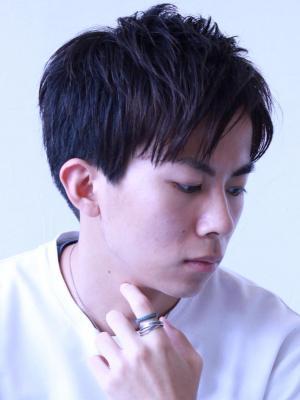【soy-kufu 】束感グレイショート