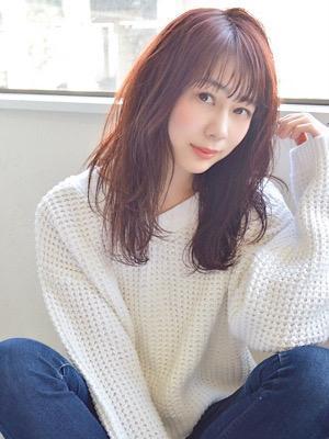 【soy-kufu】ゆる巻きウェットロングスタイル