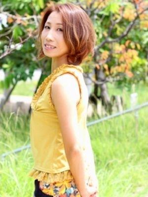 明るめの白髪染め☆ハニーベージュ