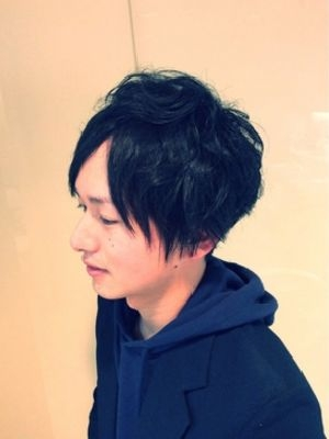 黒髪清純派モテスタイル