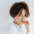 美髪カット+色持ち◎透明感カラー+ハホニコTr+ホームケアTr付き☆