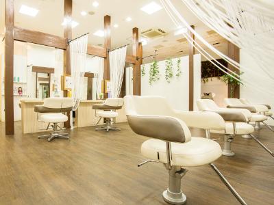 HAIR AND BEAUTY GARDEN ベルモール店1