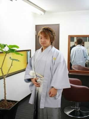 袴の着付けです。