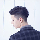 【Men's人気No.2】カラー+カット+オーガニックスパ+眉カット