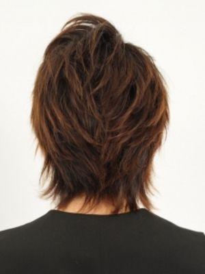 前髪を長めにおいて、クールな感じをイメージ☆