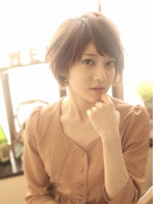 【ohana/表参道】愛され小顔ショートヘア