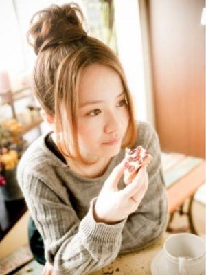 【ohana/表参道】ルーズおだんごアレンジ