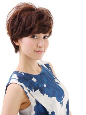 【Aroma&ivory】エアリーなショートヘアスタイル