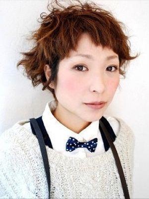 ガーリーショート!【新規】パーマ+カット¥8640