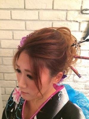 花火大会・イベント・着付けヘアセット