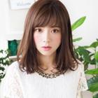 【ラメラメで美髪☆】 前髮カット+カラー+ラメラメトリートメント