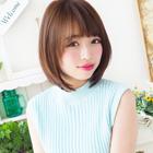【アミノ酸で可愛い前髪】 カット+前髪柔らかストレート 7,560円