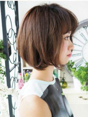 【ジュレベール 松田】 大人ニュアンスな透明感ショートボブ