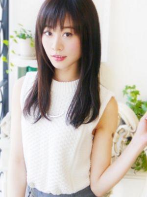 【ヘアジュレドゥ 小澤】 カジュアル☆爽やかセミディ