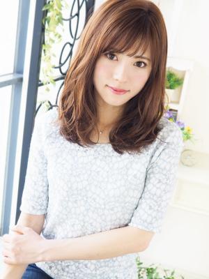【ジュレベール松田】 Natural クール可愛いセミディ