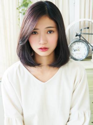 【ジュレベール 松田】 ナチュラル可愛く艶ロブ☆