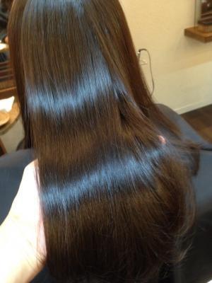 細い髪質の縮毛矯正