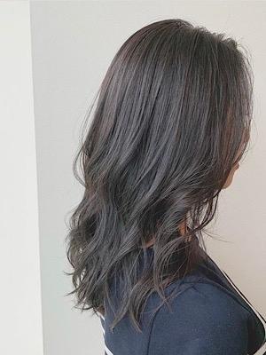 ゆる巻きモテ髪セミロング