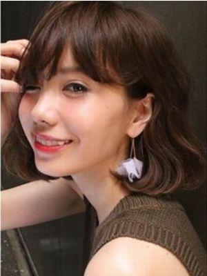 ☆ShellBear☆ラフだけど可愛い耳かけボブスタイル