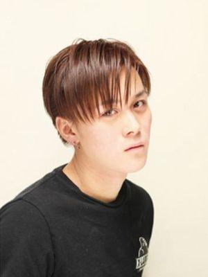【SEVEN】 ツーブロック×前髪長めショート