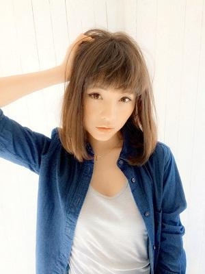 【Rogue hair】 シースルーロブ