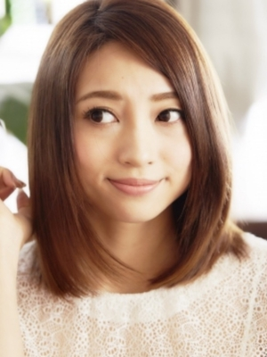 ちょうどいい長さのナチュラルな美髪なロブスタイル☆