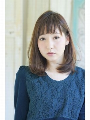 Londfille原雄也 大人可愛いワンカールショートバング
