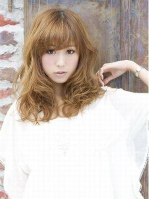 【Lond fille】王道大人カワイイ巻き髪風セミディ
