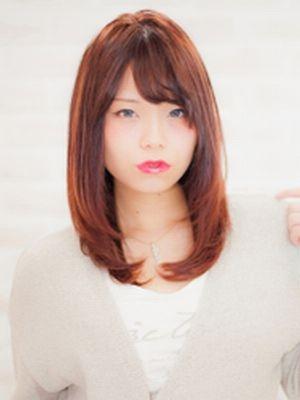 【Richer-リシェル】色っぽセミロングワンカール