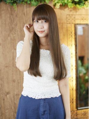 【ashuley】超美髪☆うるツヤストレートロング