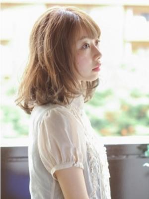 【ashuley】ふわくしゅミディボブ☆