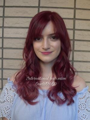 Red Violet color
