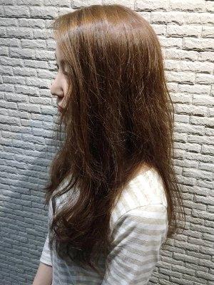 ツヤ髪なキレイめロング
