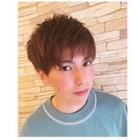 ☆メンズ限定☆メンズデザインカット+ワンメイクカラー☆