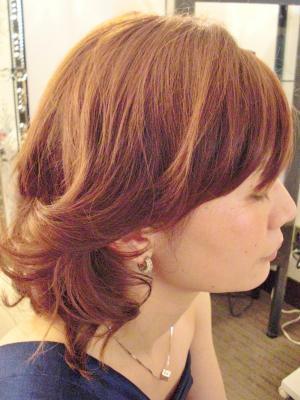 巻き髪風簡単セットアップ
